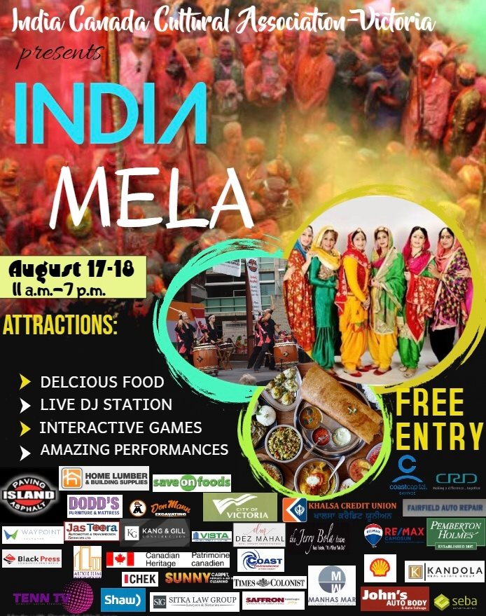 India Mela 2019 @ Centennial Square Victoria, British Columbia