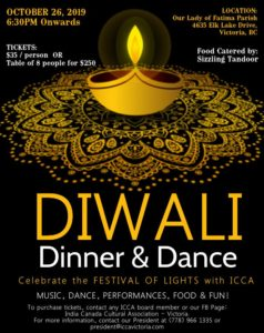 Diwali Dinner & Dance @ Our Lady of Fatima Church